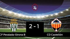 El Peralada-Girona B ganó en casa al Castellón