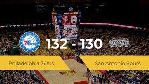 Philadelphia 76ers vence a San Antonio Spurs (132-130)