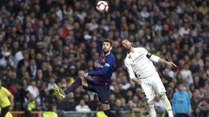 Piqué y Sergio Ramos no se verán las caras hasta diciembre