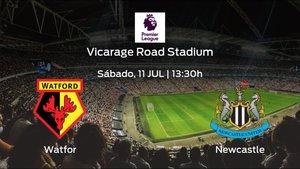 Previa del encuentro: el Watford recibe al Newcastle United