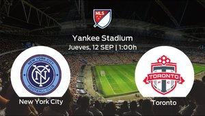 Previa del partido: el New York City recibe al Toronto FC en la trigésimo quinta jornada