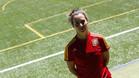 Priscila Borja, delantera de la selección española