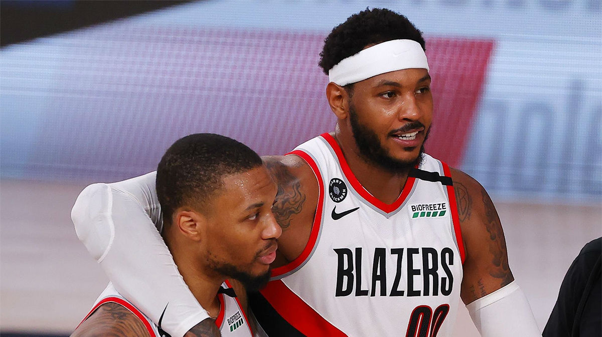 51 puntos de Lillard en la victoria de los Blazers ante los 76ers