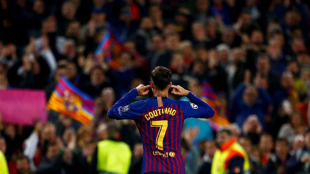 ¿Qué le dijo Coutinho al público del Camp Nou?