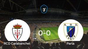 El RCarabanchel y el Parla empatan (0-0)