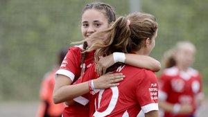 El RCD Espanyol, campeón femenino de la Danone Nations Cup