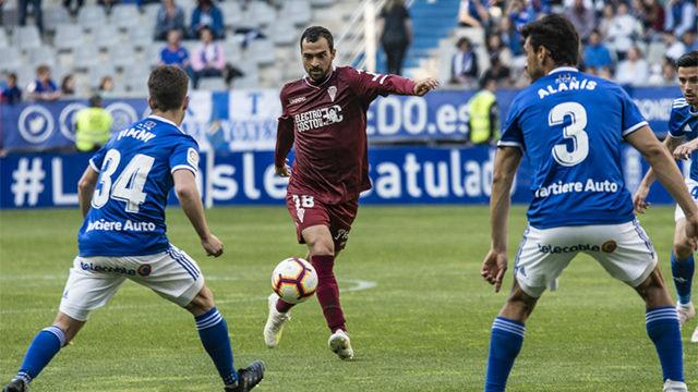 Reparto de puntos en Oviedo y Córdoba