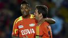 Robinho y Messi en Medellín