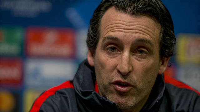 La rueda de prensa de Emery antes de enfrentarse al Barça