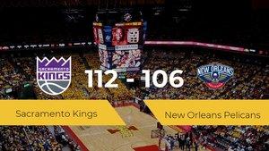 Sacramento Kings logra la victoria frente a New Orleans Pelicans por 112-106