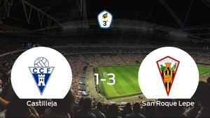 El San Roque Lepe se impone al Castilleja CF y consigue los tres puntos (1-3)