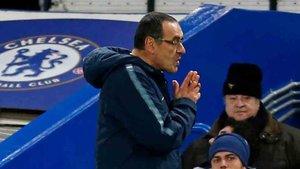 Sarri, cuestionado en el Chelsea