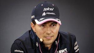 Sergio Pérez espera regresar pronto
