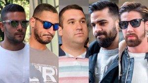 El Supremo condena a los miembros de La Manada por violación múltiple