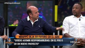 Tomás Roncero escenifica el posible fichaje entre el Florentino y Mbappé | El Español