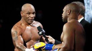 Tyson y Jones, tras su combate