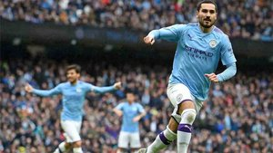 Urdogan marcó uno de los goles del Manchester City