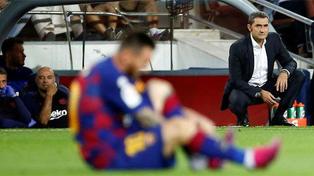 Valverde aclara por qué sustituyó a Messi