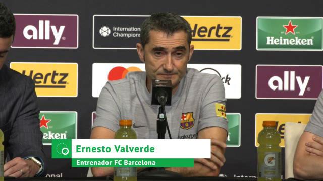 Valverde: La adaptación de Malcom va por el buen camino