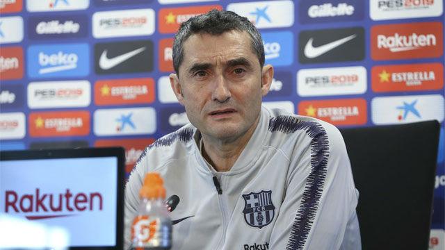 Valverde: Admito sin reparos que la Liga es la prioridad