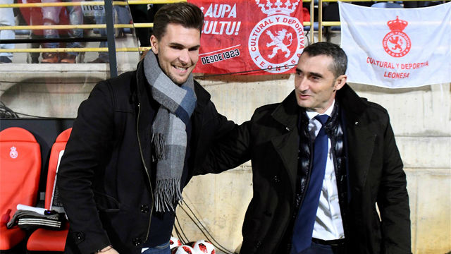 Valverde: Esperamos refrendar el resultado en el Camp Nou