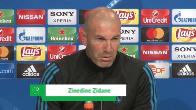 Zidane: Nosotros no nos vamos a cagar en los pantalones...