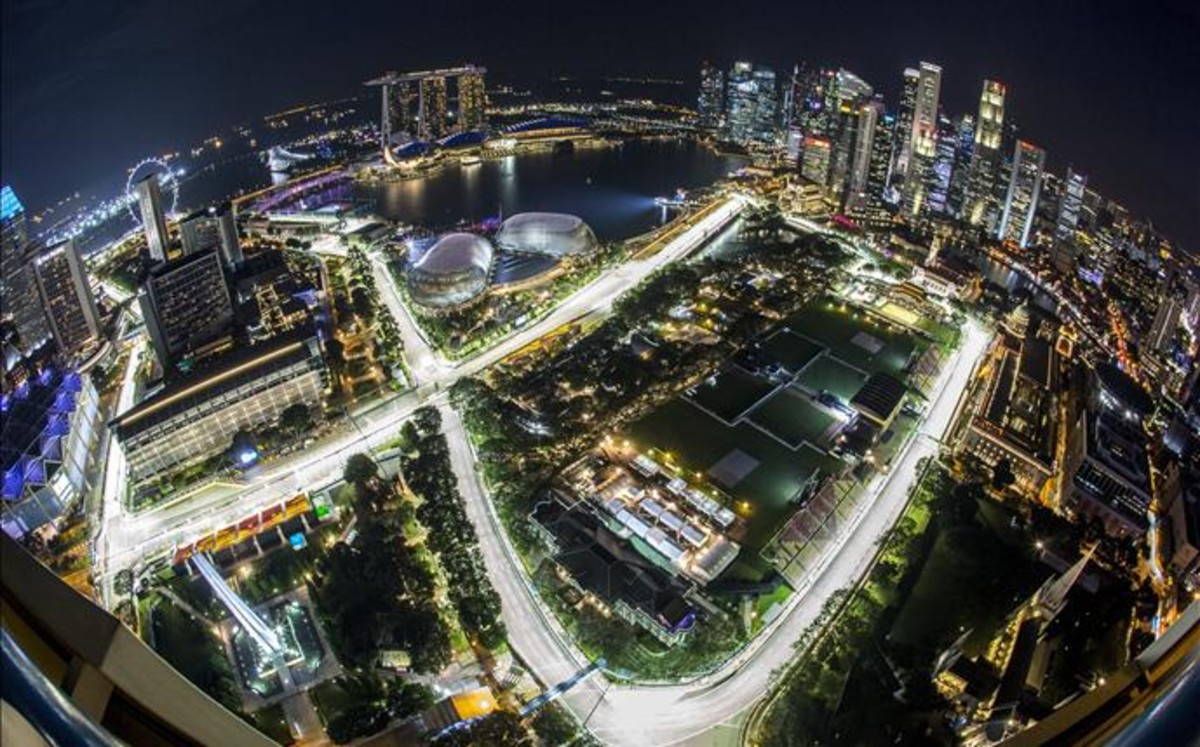 Circuito F1 Singapur : Horarios y televisión de gran premio de singapur de fórmula