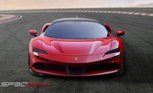 Las diez claves y transgresiones del Ferrari F90 Tributo
