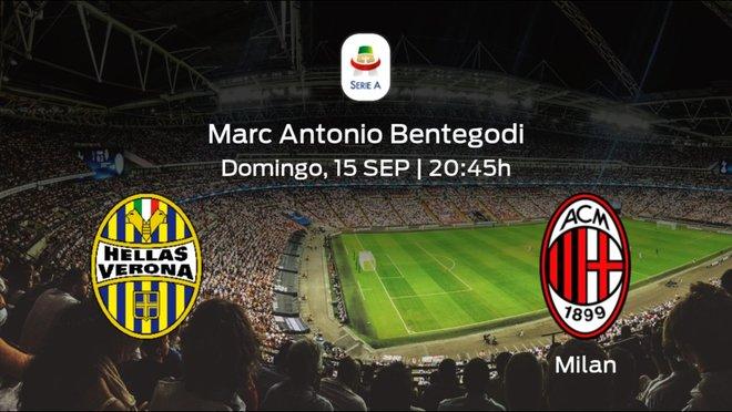 Jornada 3 de la Serie A: previa del duelo Hellas Verona - Milan