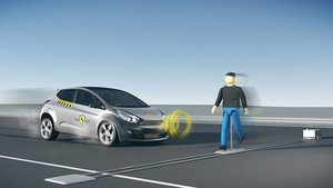 Además de las colisiones por alcance, el sistema puede evitar atropellos fatales.