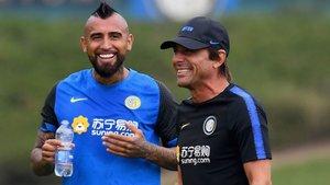 Arturo Vidal ha firmado por dos temporadas con el Inter de Milán