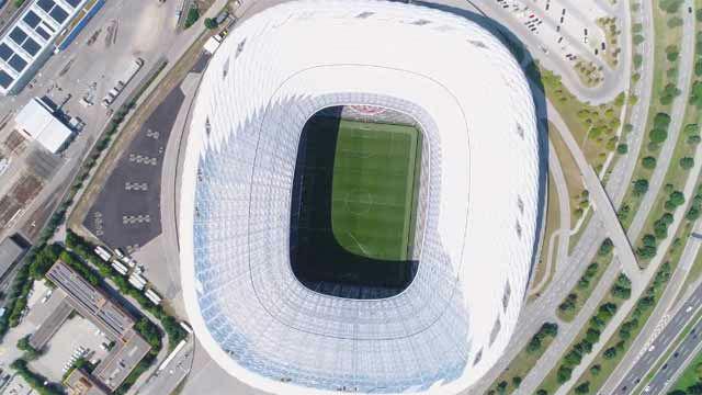 Así se construyó el Allianz Arena