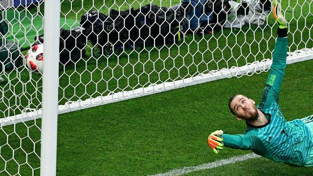 Así fue el fracaso de De Gea en el Mundial de Rusia