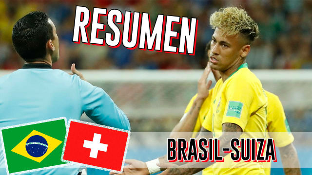 Así ha sido el empate de Brasil ante Suiza (1-1)