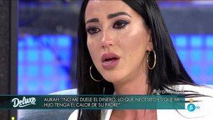 Aurah Ruiz se ha derrumbado en Sábado Deluxe cuando ofrecía detalles de su vida | El Confidencial