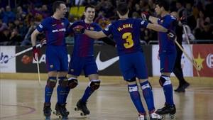 El Barça se despide en la pista del Noia