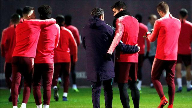 El Barça prepara el partido del Tottenham con tranquilidad