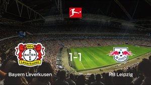 El Bayern Leverkusen y el RB Leipzig consiguen un punto tras empatar a uno