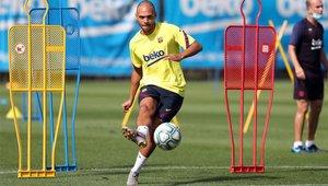 Braithwaite quiere seguir en el FC Barcelona