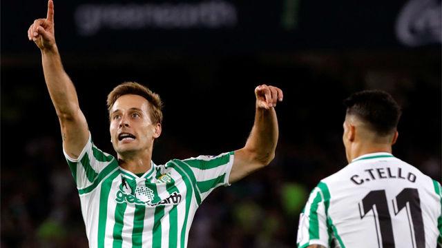 Canales sentenció con el cuarto gol del Betis