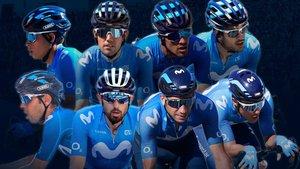 Confirmado el ocho de Movistar para el Giro