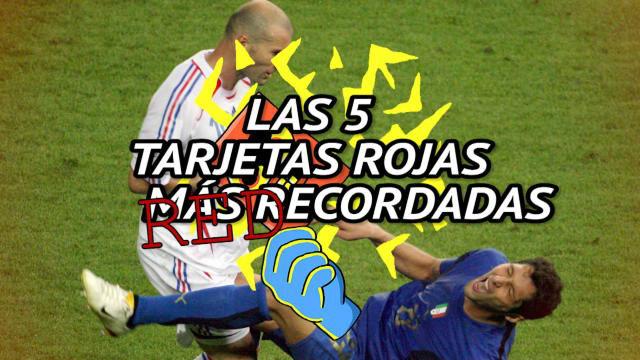 Cristiano, Zidane, Cantona... Las expulsiones más míticas de la historia del fútbol
