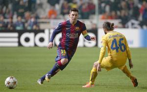 ¿Cuál es la posición en la que Lionel puede rendir más? En la zona Messi