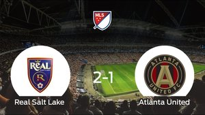 Derrota del Atlanta United frente al Real Salt Lake (2-1)