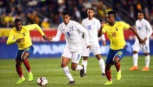 Ecuador igualó sin goles con Honduras