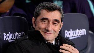 Ernesto Valverde hizo una alineación anómala