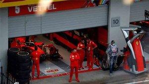 Ferrari reprendió a sus pilotos por no cumplir la normativa COVID 19