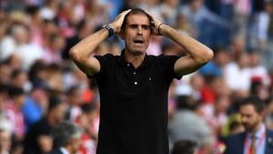 Gaizka Garitano, cesado como entrenador del Deportivo