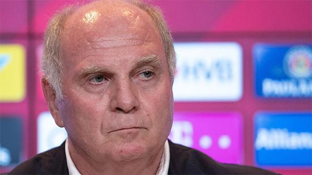 Hoeness explota contra Ter Stegen y la prensa alemana