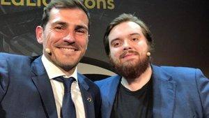 Iker Casillas e Ibai Llanos se miden en una sana competencia por conseguir más repercusión en las redes sociales | Instagram
